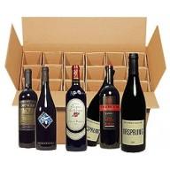 Paket mit 18 Flaschen Rotwein - Weltweit