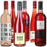 Paket mit 12 Flaschen Rose