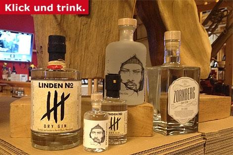 Dry GIN Linden No.4 Donabaum Zornberg Gin Bootsmann