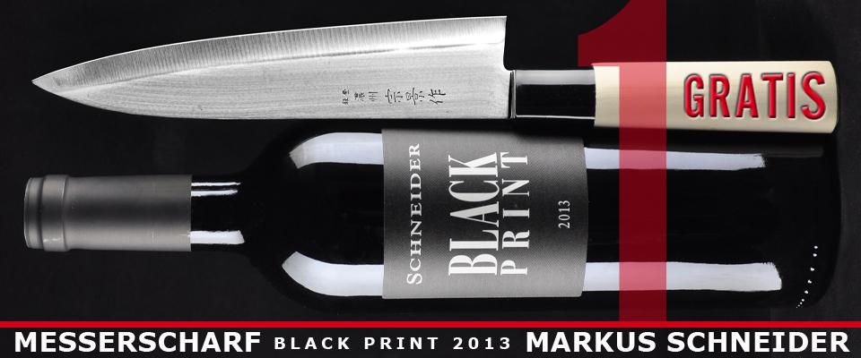 17 Black Print + gratis Küchenmesser