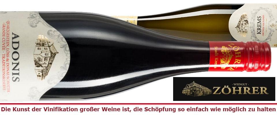 Weingut Zöhrer aus dem Kremstal
