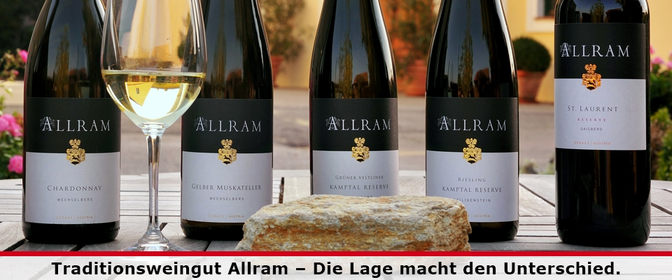 Neue Weine vom Weingut Allram