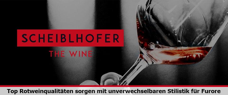 Neue Weine von Scheiblhofer